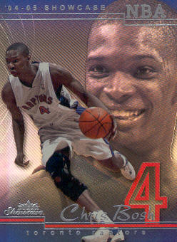 2004-05 Fleer Showcase #73 Chris Bosh