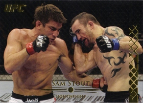 2011 Topps UFC Title Shot Gold #11 Sam Stout