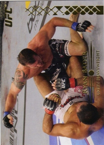 2011 Topps UFC Title Shot Gold #84 Ryan Bader
