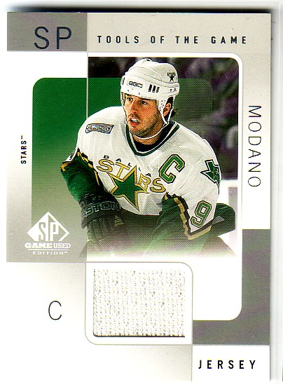 2000-01 SP Game Used Tools of the Game #MO Mike Modano