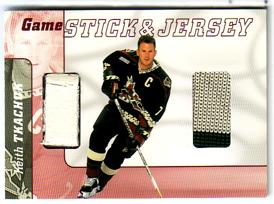 2000-01 BAP Signature Series Jersey and Stick #GSJ40 Keith Tkachuk