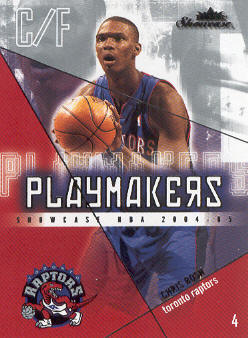 2004-05 Fleer Showcase Playmakers #5 Chris Bosh