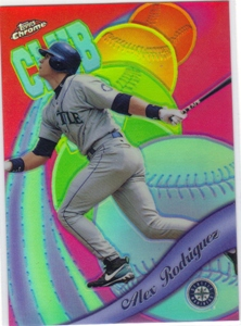 1999 Topps Chrome All-Etch Refractors #AE12 Alex Rodriguez