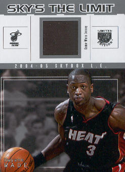 2004-05 SkyBox LE Sky's the Limit Jerseys #DW Dwyane Wade
