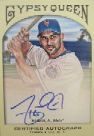 2011 Topps Gypsy Queen Autographs #AP Angel Pagan