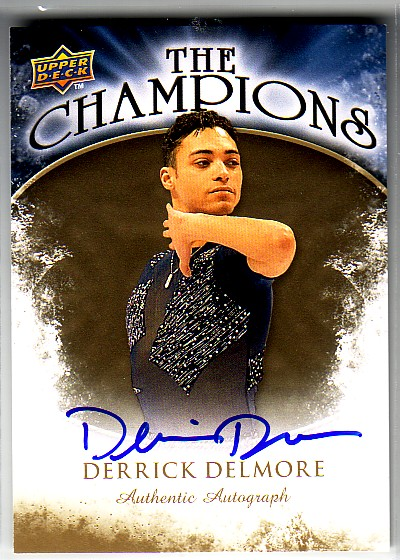 2009-10 Upper Deck The Champions Autographs Gold #CHDD Derrick Delmore