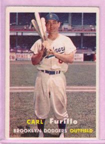 1957 Topps #45 Carl Furillo