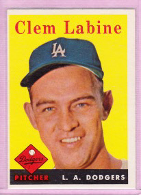 1958 Topps #305 Clem Labine