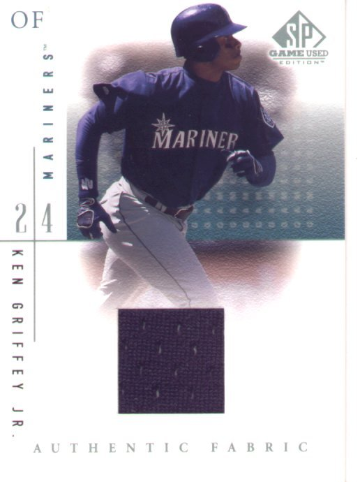 2001 SP Game Used Edition Jersey #KG(M), Ken Griffey Jr., mint, $125.00