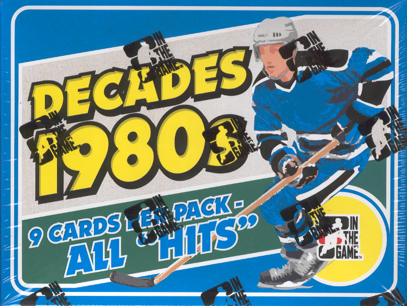 2010-11 (2011) In The Game Decades 1980's Hockey Box