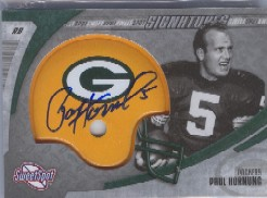 2006 Sweet Spot Signatures #PH Paul Hornung