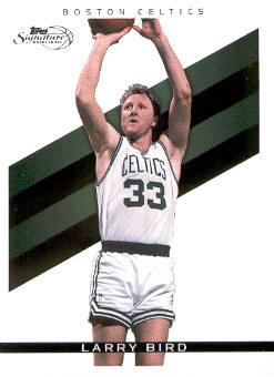 2008-09 Topps Signature #TSLB Larry Bird