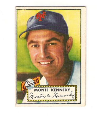 1952 Topps #124 Monte Kennedy