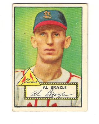 1952 Topps #228 Al Brazle front image