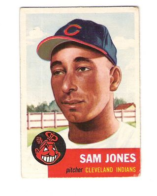1953 Topps #6 Sam Jones