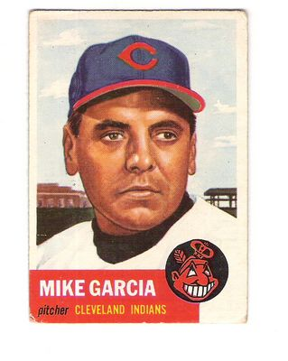 1953 Topps #75 Mike Garcia