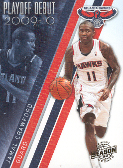 2009-10 Panini Season Update Playoff Debuts Gold #17 Jamal Crawford