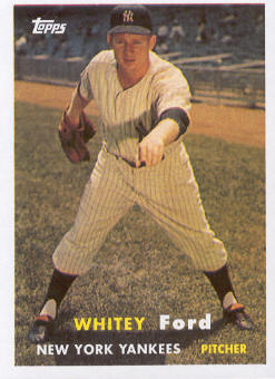 2010 Topps Cards Your Mom Threw Out #CMT64 Whitey Ford