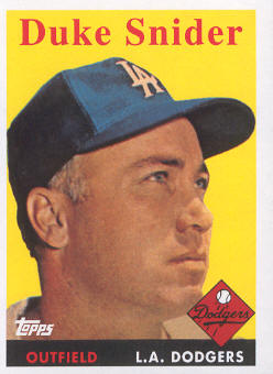 2010 Topps Cards Your Mom Threw Out #CMT65 Duke Snider