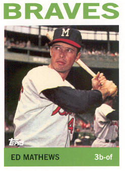 2010 Topps Cards Your Mom Threw Out #CMT71 Eddie Mathews