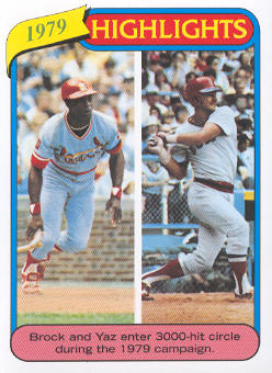 2010 Topps Cards Your Mom Threw Out #CMT145 Lou Brock/Carl Yastrzemski