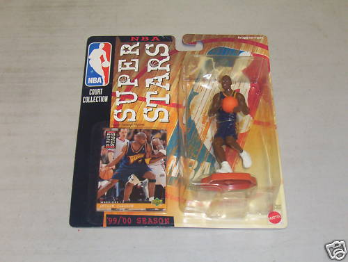 1999-00 Mattel NBA Superstars #20 Antawn Jamison FP
