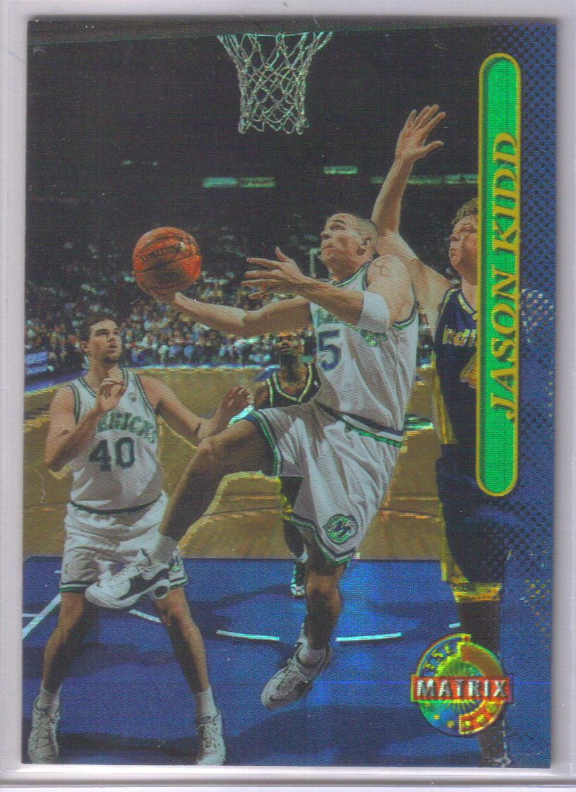 1996-97 Stadium Club Matrix #13 Jason Kidd front image