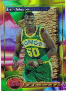 1993-94 Finest Refractors #71 Ervin Johnson
