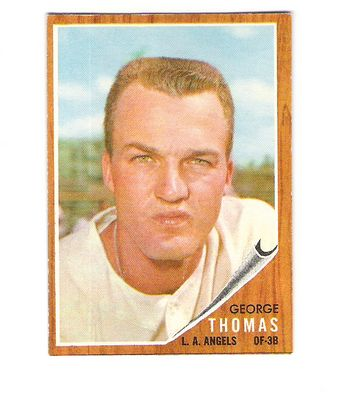 1962 Topps #525 George Thomas