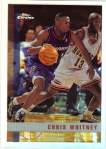 1997-98 Topps Chrome Refractors #176 Chris Whitney