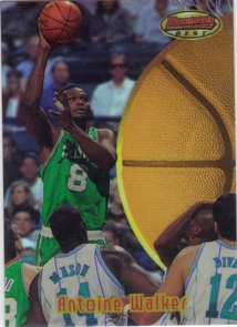 1997-98 Stadium Club Bowman's Best Previews Refractors #BBP7 Antoine Walker