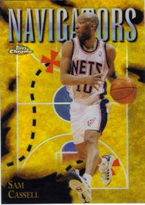 1998-99 Topps Chrome Season's Best Refractors #SB5 Sam Cassell