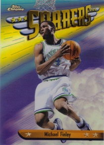 1998-99 Topps Chrome Season's Best Refractors #SB15 Michael Finley