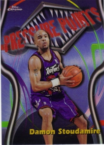 1997-98 Topps Chrome Season's Best Refractors #SB5 Damon Stoudamire