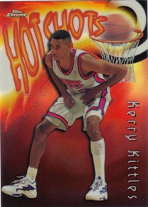 1997-98 Topps Chrome Season's Best Refractors #SB30 Kerry Kittles