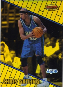 1999-00 Bowman's Best Refractors #89 Chris Gatling
