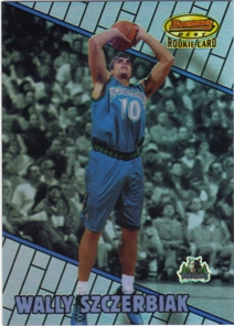 1999-00 Bowman's Best Refractors #106 Wally Szczerbiak