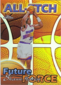 1999-00 Topps Chrome All-Etch Refractors #AE29 Shawn Marion