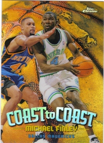 1998-99 Topps Chrome Coast to Coast Refractors #CC7 Michael Finley