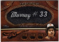 2011 Topps Glove Manufactured Leather Nameplates #EM Eddie Murray S2