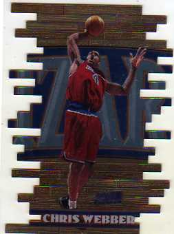 1997-98 Stadium Club Triumvirate #T3B Chris Webber