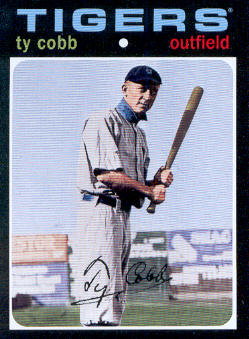 2010 Topps Vintage Legends Collection #VLC36 Ty Cobb
