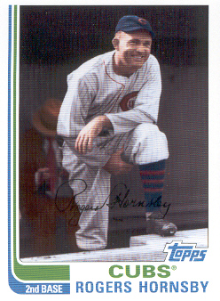 2010 Topps Vintage Legends Collection #VLC46 Rogers Hornsby