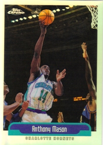 1999-00 Topps Chrome Refractors #43 Anthony Mason