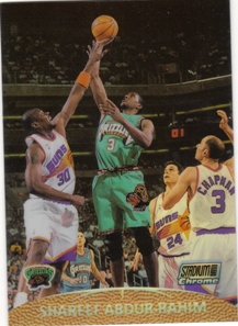 1999-00 Stadium Club Chrome Previews Refractors #SCC5 Shareef Abdur-Rahim