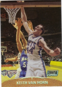 1999-00 Stadium Club Chrome Previews Refractors #SCC8 Keith Van Horn