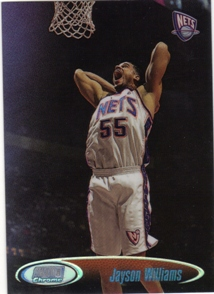 1998-99 Stadium Club Chrome Refractors #SCC12 Jayson Williams