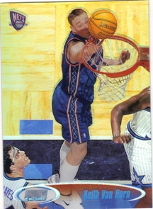 1998-99 Stadium Club Chrome Refractors #SCC23 Keith Van Horn