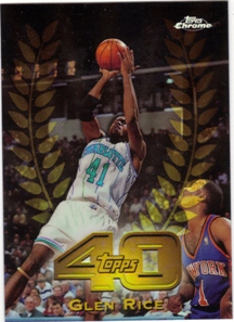 1997-98 Topps Chrome Topps 40 Refractors #T1 Glen Rice