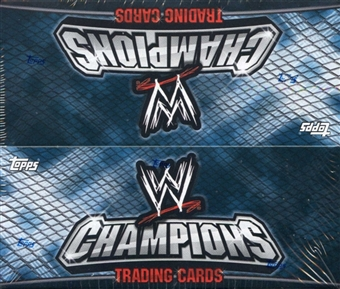 2011 Topps WWE Champions Wrestling Factory Sealed Hobby Box - (Includes a pk of 100 sleeves)